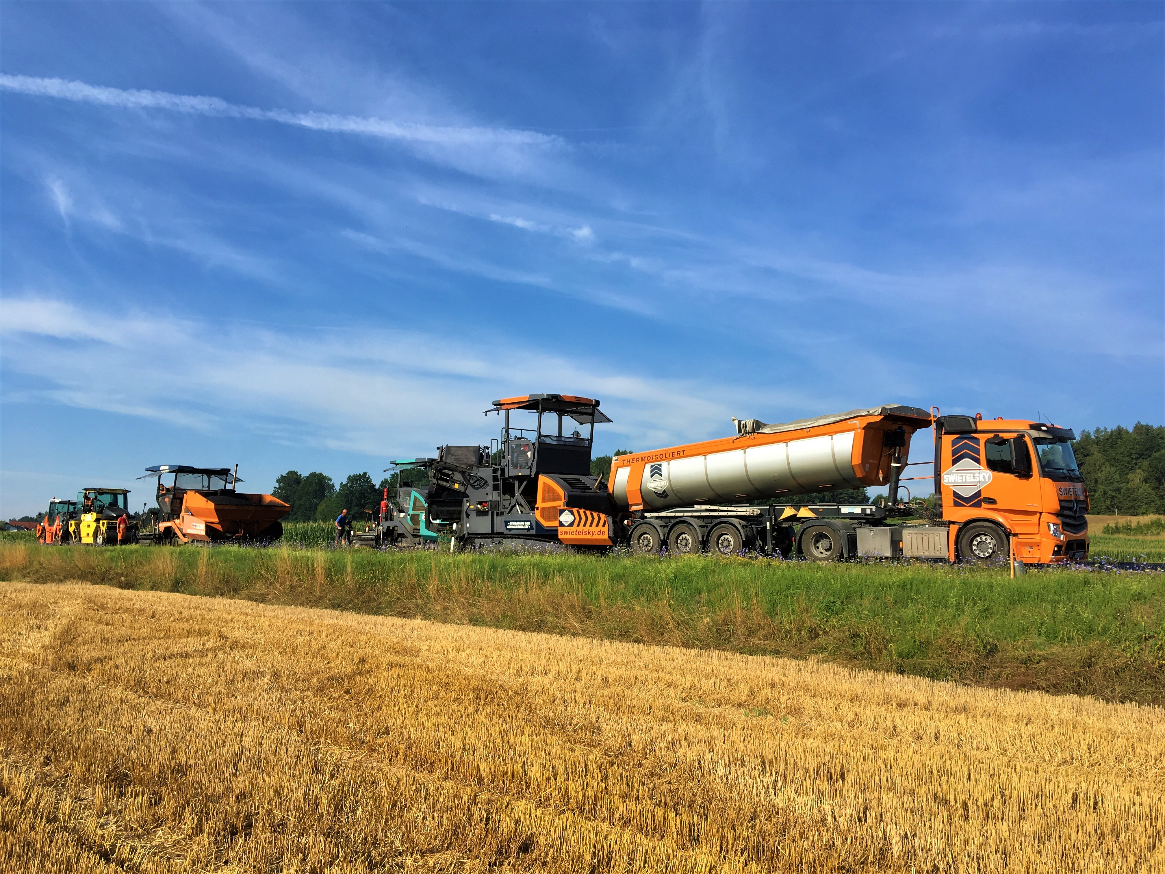 Inst. Mainburg-Appersdorf - St. Bauamt Landshut - Construction de routes et de ponts