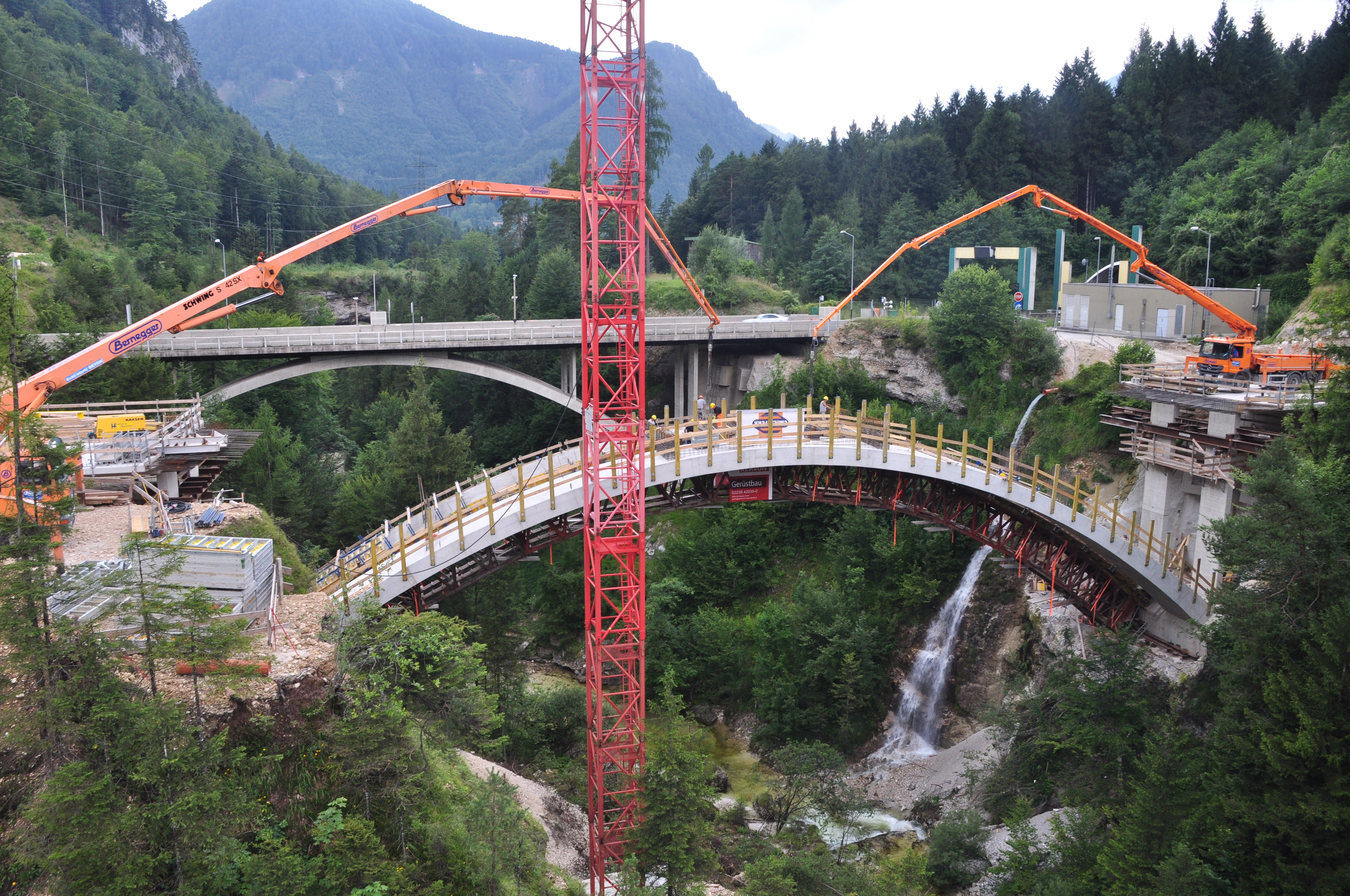 A9 Teichlbrücke - Construction de routes et de ponts