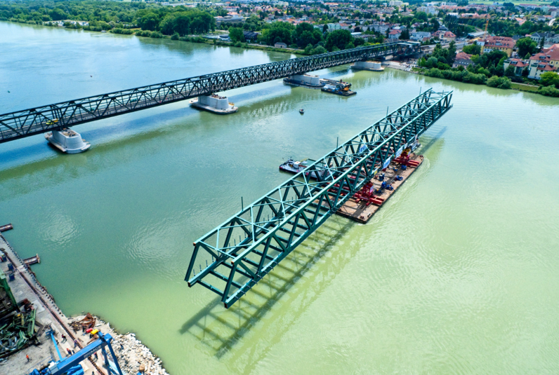 Sanierung Donaubrücke Tulln - Construction de routes et de ponts