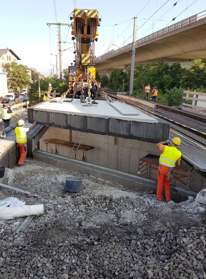 Durchlass Wien Nußdorf - Construction de routes et de ponts