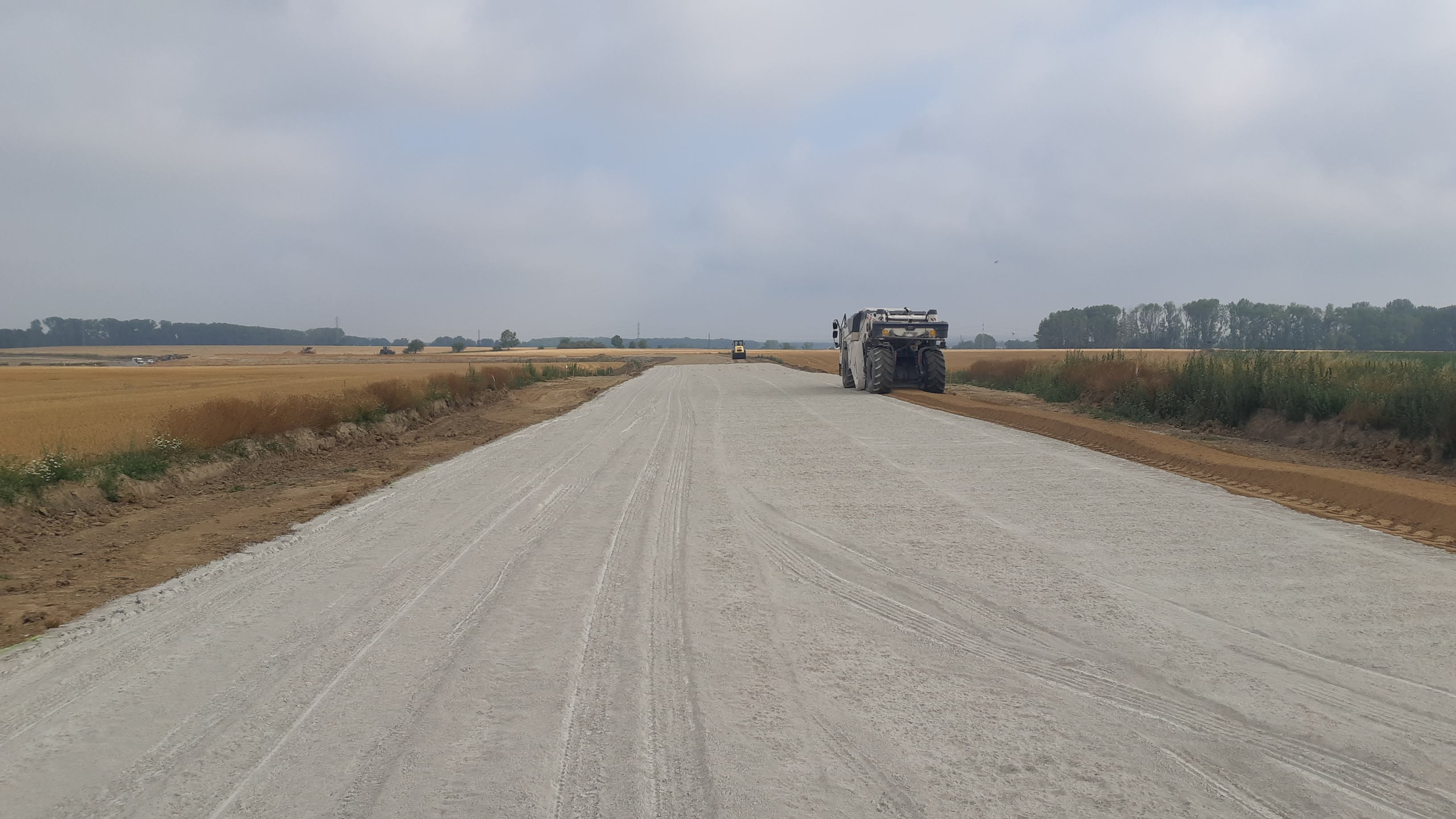 D35 Časy - Ostrov       - Construction de routes et de ponts