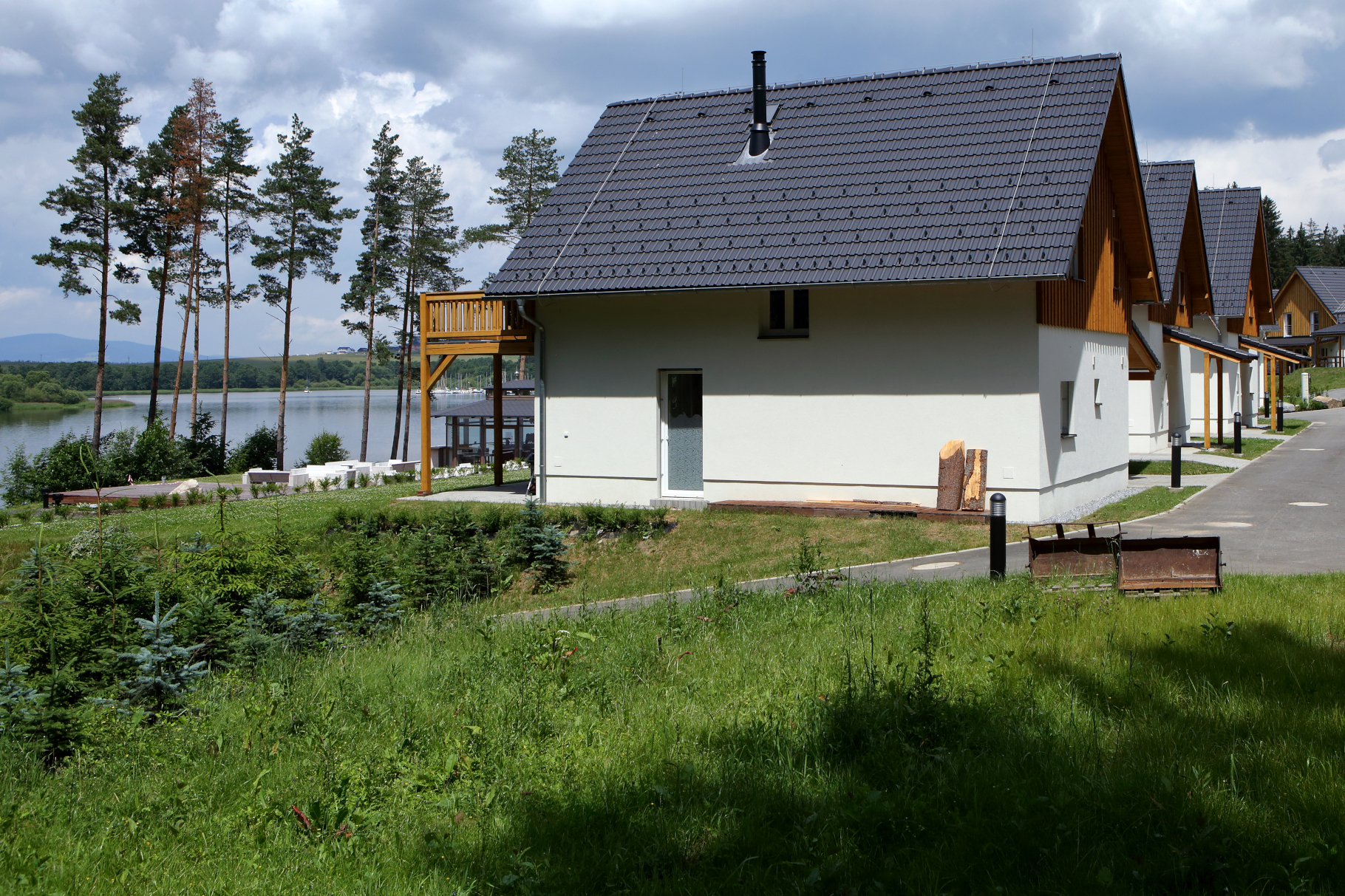 Lakeside Village Lipno nad Vltavou - Construction de bâtiments